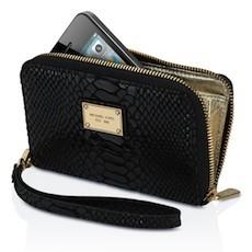 MICHAEL Michael Kors Essential Zip Wallet for iPhone 4/4S/5/5S