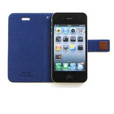 Korean Style Flip Case Cover for iPhone 4/ 4S