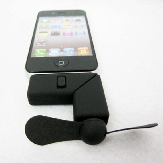 Portable iPhone4 Dock Fan