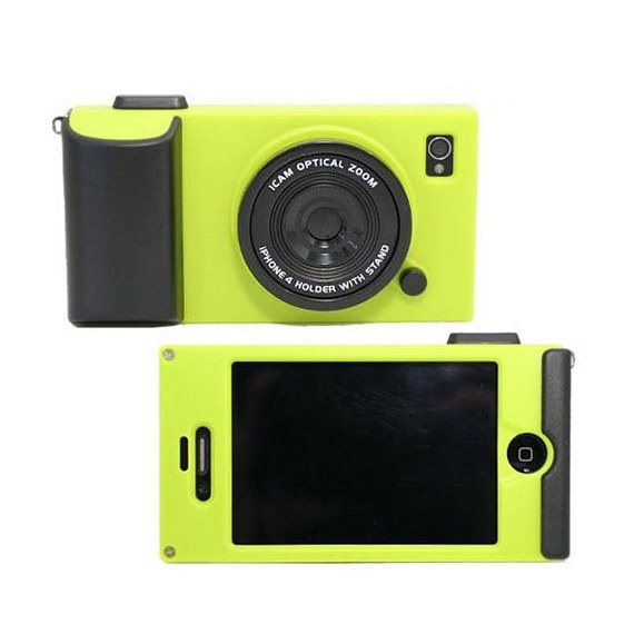 Rubber Cute Hot Camera Style Case For iPhone 4 /4S