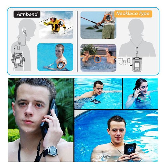 Waterproof Case for iPhone, iPod Touch