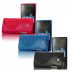 S-Line Series Silicone Case for  Sony Ericsson Xperia Ion LT28i