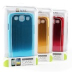 Samsung Galaxy S3 i9300 Premium Metallic Reflective Armour Shell