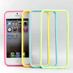 iPhone 5 Colour Rubber Edge Bumper Case