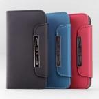 iPhone 5 Metallic Buckle Wallet Case