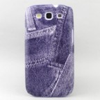 Galaxy S3 i9300 Denim Theme Snap-on Case