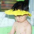 Soft Shower Cap to Protect Your Kid's Eyes from Shampoo and Water