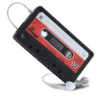 Cassette Tape Silicone Case For iPhone 4