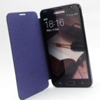 Galaxy Note i9220/ N7000 Leather Flip Cover
