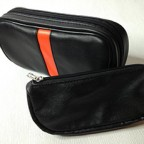 NEW Black Leather Tobacco Smoking Pipe Pouch Pocket SM010