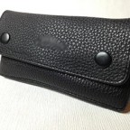 NEW Black Leather Tobacco Smoking Pipe Pouch Pocket SM011