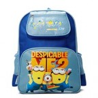Kids Childs Boy Girl Cartoon Minions School Bag Oxford Cloth Backpack Lunch Box