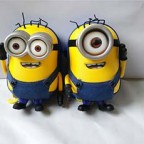 Despicable Me 3D Minion laughing sound Backpack