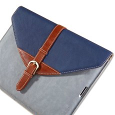 Stylish Leather Cover for The new iPad/ iPad 2