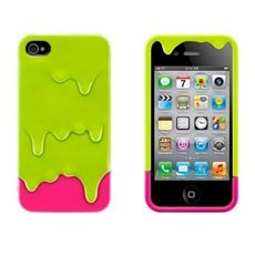 Melting Ice-cream theme iPhone Case