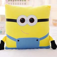 Warm Hand Cute Minion Cushion