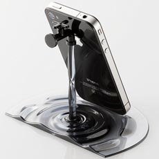 Running Water Tap iPhone Stand